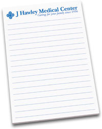 "LM4 - 3M Post-it Note Pads - Low Minimums 4"" x 5-13/16"""